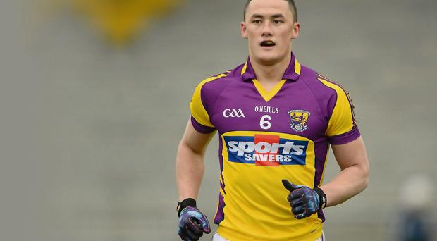 Lee Chin lines out for the Wexford hurlers against Dublin tonight and for the Wexford footballers against Louth tomorrow