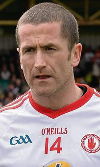 Tyrone captain Stephen O'Neill