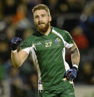 Ireland's star man, Zach Tuohy