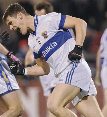 Diarmuid Connolly, St Vincent's, celebrates after scoring his side's first goal