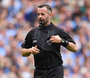 Top Gaelic football referee David Gough. Photo: Sportsfile