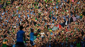 Crowds of 20,000 could be at the All-Ireland finals this year. Image credit: Sportsfile.
