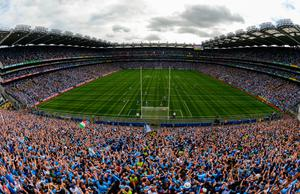 A packed Croke Park for the drawn 2019 All-Ireland final between Dublin and Kerry. Photo: Sportsfile