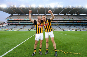 JJ Delaney and Brian Hogan departed on a high note. Pat Murphy / SPORTSFILE