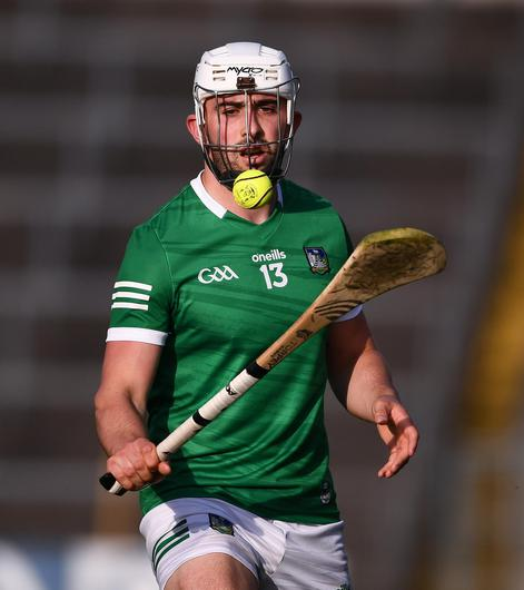 Aaron Gillane of Limerick during the Munster SHC semi-final match against Cork at Semple Stadium. Photo: Sportsfile