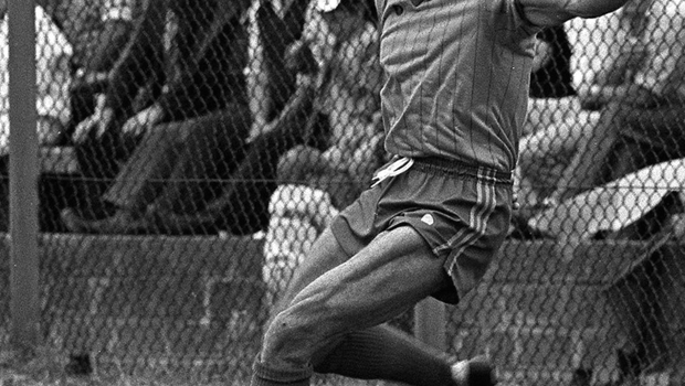 The late Dermot Earley in action for Roscommon
