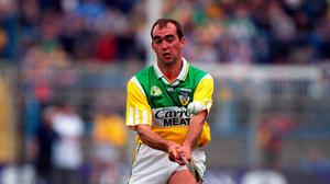 Johnny Dooley won two All-Ireland medals and three All Stars during his time with Offaly. Image credit: Sportsfile.