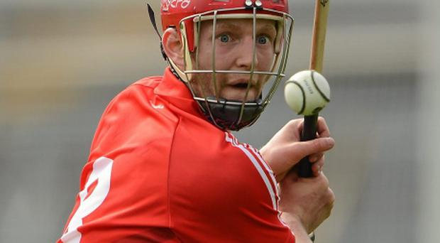 1 April 2012; Lorcan McLoughlin, Cork. Allianz Hurling League Division 1A, Round 5, Tipperary v Cork, Semple Stadium, Thurles, Co. Tipperary. Picture credit: Brendan Moran / SPORTSFILE