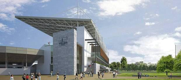 Artist's impressions of what the redeveloped Páirc Uí Chaoimh will look like. The county's footballers and hurlers are temporarily without a home ground