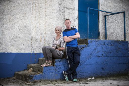 Ciaran Carey, pictured with his camogie-playing daughter Sarah, believes that camogie finals should be played as curtain-raisers to big men's matches at Croke Park (Cathal Noonan)