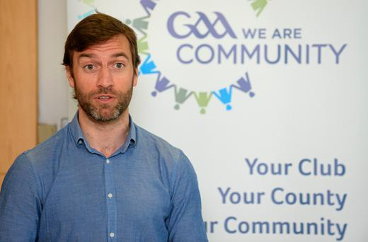 GAA is perfectly positioned to offer support, says Colin Regan