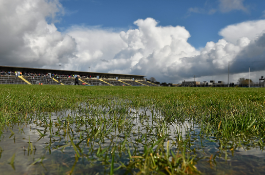 Surface water can gather at Hyde Park Photo: Brendan Moran / Sportsfile