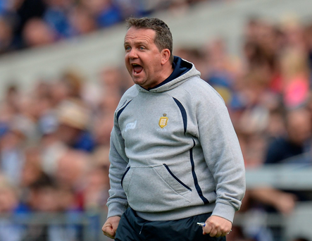 Davy Fitzgerald last night confirmed that he wouldn't serve the final year left on his deal with the Clare county board. Photo: Sportsfile