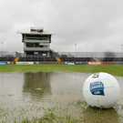 'Only Omagh has lights, in spite of the vast amounts of money raised over the past decade. If it rains, Omagh is unplayable.' Photo: Oliver McVeigh/Sportsfile