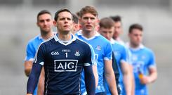 Stephen Cluxton leads his troops at Croke Park