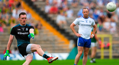 There is no contradiction in saying Stephen Cluxton has been one of the most influential players ever in Gaelic football but agreeing that Rory Beggan was the best goalkeeper this year. Photo: Ramsey Cardy