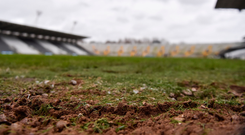 'Just as well the winter was mild and dry or a boat would be needed to get into Páirc Uí Chaoimh'. Photo: Eoin Noonan/Sportsfile