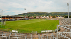 Casement Park which was supposed to be completely revamped into a new stadium but the project is in doubt. Photo: Sportsfile