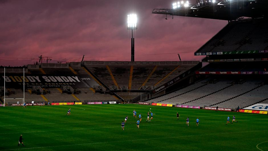 Hopes are growing that the Government will announce better news for Gaelic games in their next 'Living with Covid' sporting roadmap. Photo: Sportsfile