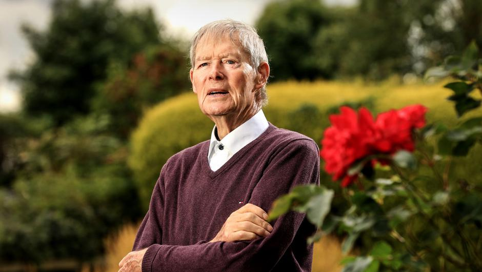 "Micheál Ó Muircheartaigh: 'And the first thing he asked me was, ""Where was the gym?"" And I said, up until now everyone that would come in that door would ask you where is the bar? It had started that time.' Photo: Gerry Mooney"