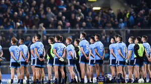 Time and constant practice have helped the Dublin players to hone their skills and ultimately claim silverware and adopting a similar culture is the only option available to other counties if they are to improve from within. Photo: Sportsfile