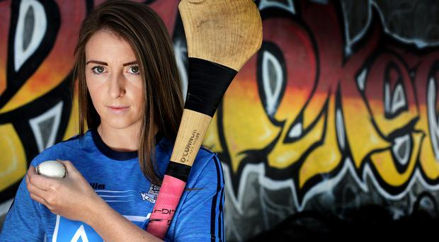 Aoife Bugler: 'I've grown up with the GAA and it's always a dream just to put on your county jersey and to represent it.' Photo: Gerry Mooney