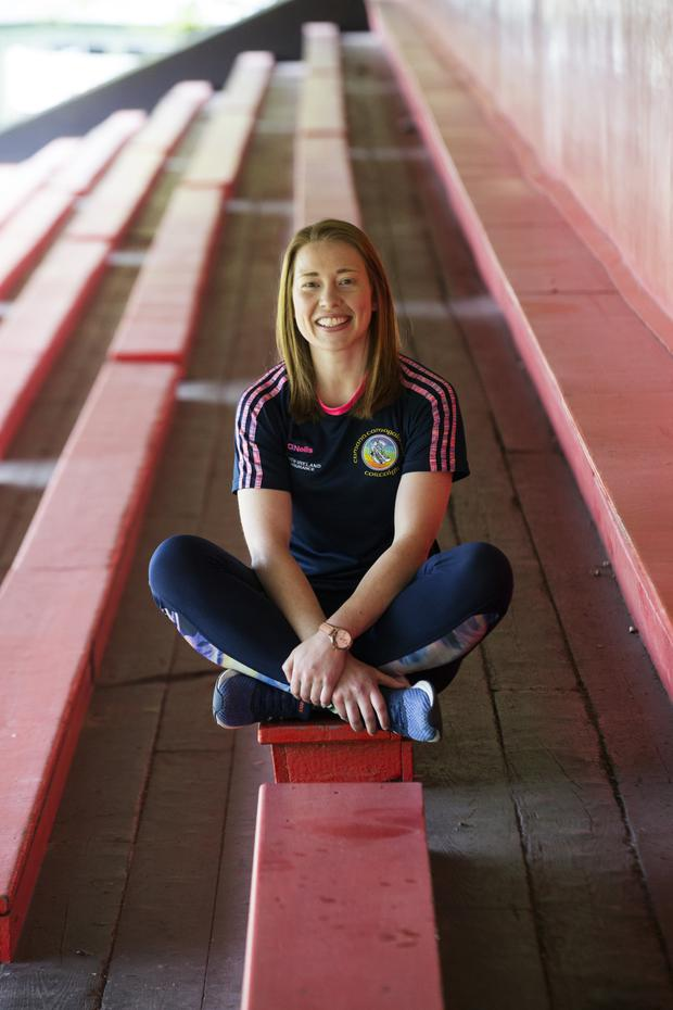 Dual star: Rena Buckley is retiring from inter-county games. Photo: Clare Keogh
