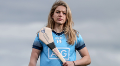 Dublin's Aisling Maher is looking forward to getting the championship under way against Meath today. Photo: INPHO/Dan Sheridan
