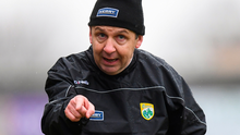 Back to the future: Kerry manager Peter Keane is aiming to develop a mean defence. Photo: Sportsfile