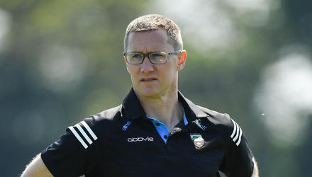 Sligo manager Tony McEntee before the Allianz Football League Division 4 North match against Louth in Haggardstown, Louth back in May. Photo: Sportsfile