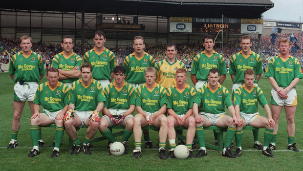 The Leitrim team that lined out against Dublin in the All-Ireland semi-final