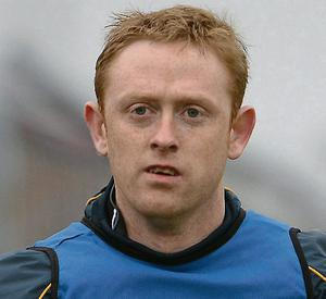 Kerry's Colm Cooper warms up
