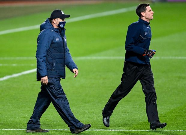 Stephen Cluxton's absence continues to trouble Dessie Farrell's side