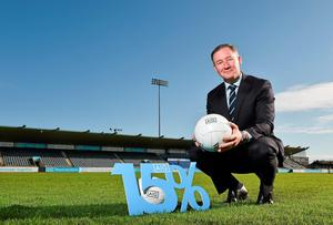 Dublin manager Jim Gavin was at Parnell Park to launch AIG's discounted insurance offer for GAA club members