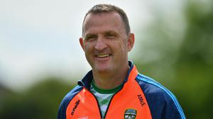 Andy McEntee has received a vote of confidence from the Meath county board
