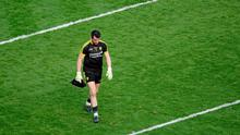 A dejected Paul Durcan, Donegal, after the game