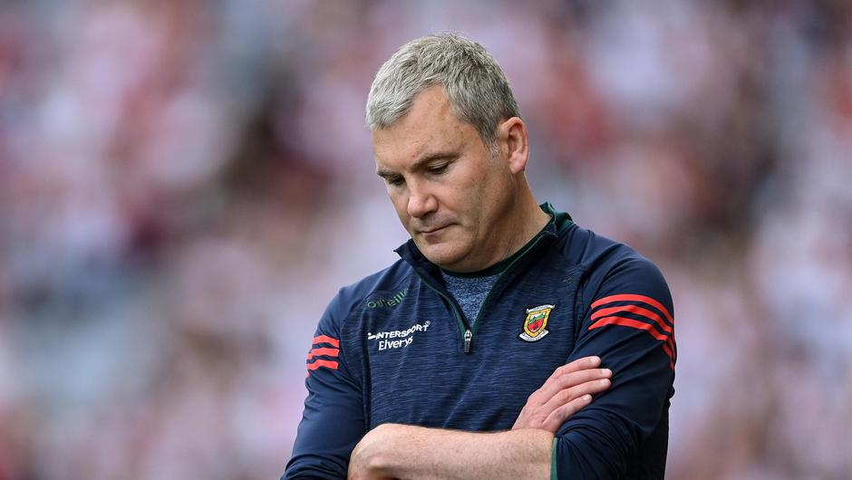 Mayo manager James Horan during the GAA Football All-Ireland Senior Championship Final match between Mayo and Tyrone