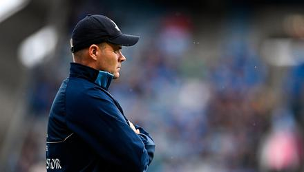 Can Dublin football manager Dessie Farrell conjure a response from his squad next season at a time when talent reserves in the county are not what they once were? Photo: Ramsey Cardy/Sportsfile