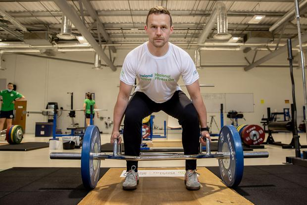 Former Mayo footballer Andy Moran, pictured at the launch National Fitness Day 2021, is set to take over as Leitrim senior football manager. Photo: Morgan Treacy/Inpho