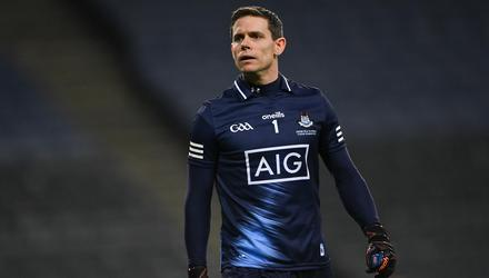 Silent treatment: Uncertainty over Stephen Cluxton's playing intentions this summer could hurt Dublin's seven-in-a-row hopes. Photo: Sportsfile