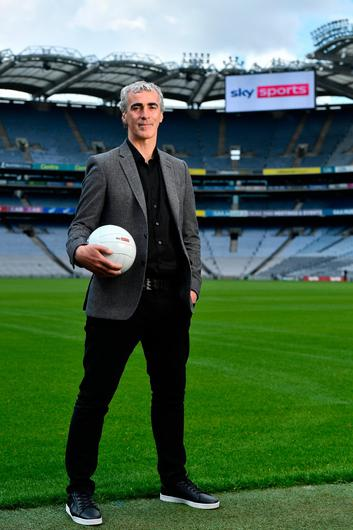 Former Donegal manager Jim McGuinness pictured at the Sky Sports 2021 Championship launch. Photo: Sam Barnes/Sportsfile