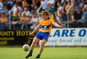 Pádraic Collins, Clare, in action during the first half