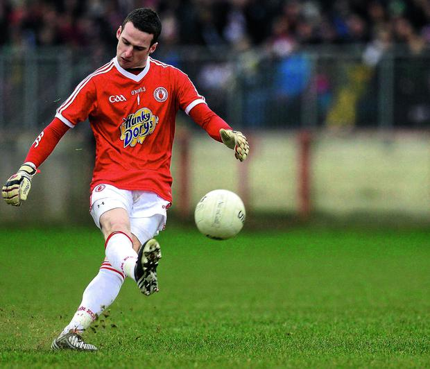 Goalkeeper Niall Morgan's accuracy from long range frees and 45s are a major asset to Tyrone