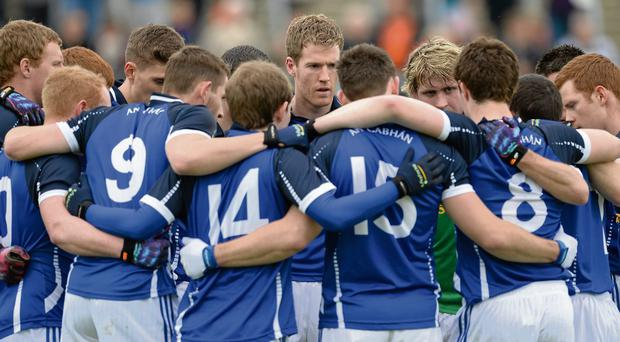 The aim is to keep the production line flowing, while consolidating the Cavan seniors as a top team