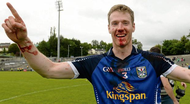 Cavan's Rory Dunne after the game.