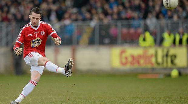 Goalkeeper Niall Morgan has made an impressive start to his Tyrone career but has been ruled out for the season through injury