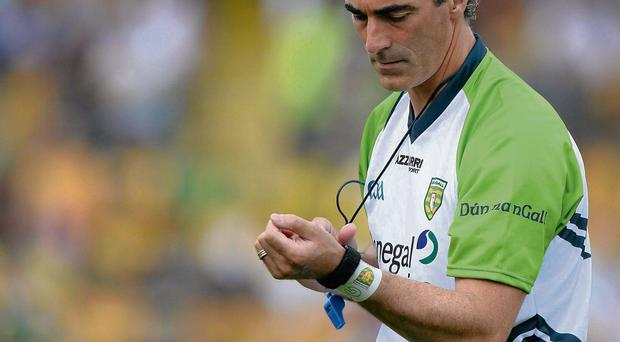 Horan responded to the claim by Jim McGuinness that his team were being targeted physically