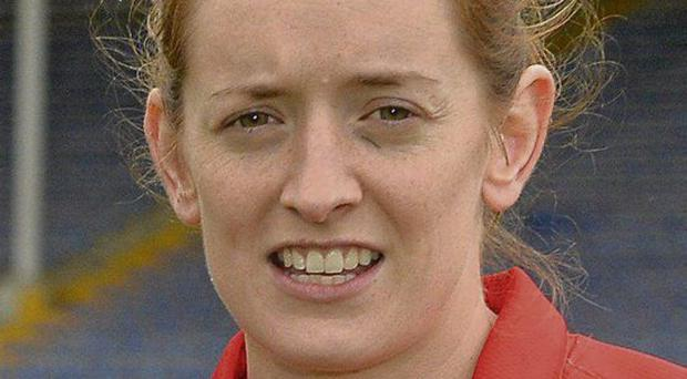 Cork captain Anne-Marie Walsh