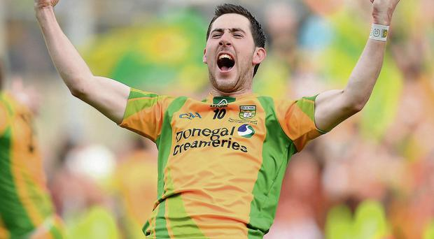 Donegal's Mark McHugh is currently not a member of the squad