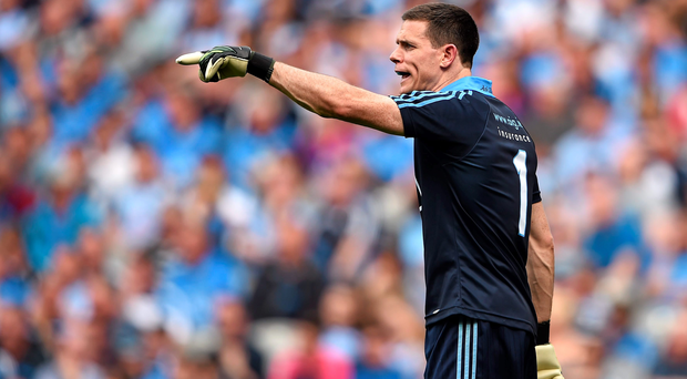 Stephen Cluxton could play in an outfield position to level up the Leinster playing field